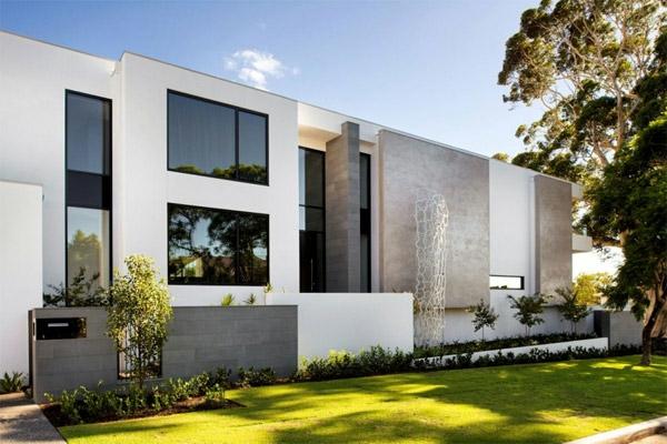 Modernes haus mit bezaubernden aussichten in australien for Architektur haus modern
