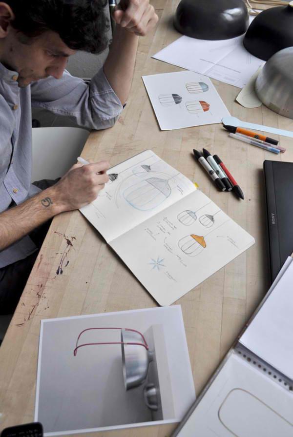 architektur und design designer hängeleuchten Tull leuchten Tommaso Caldera