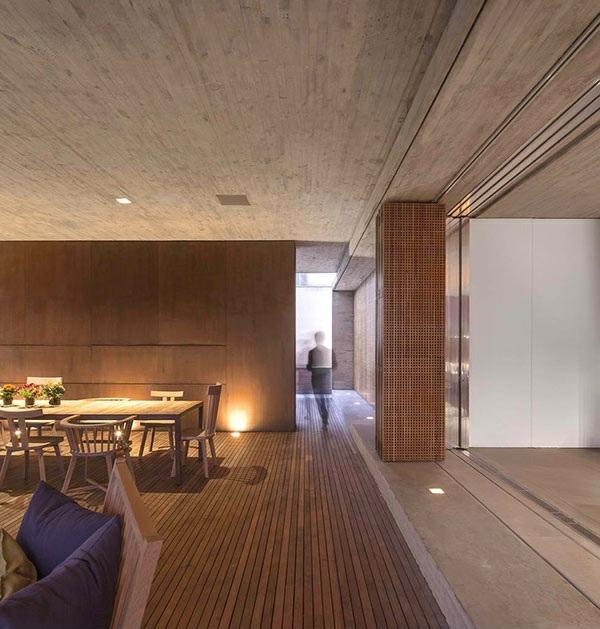 architektur und design das p haus in brasilien. Black Bedroom Furniture Sets. Home Design Ideas