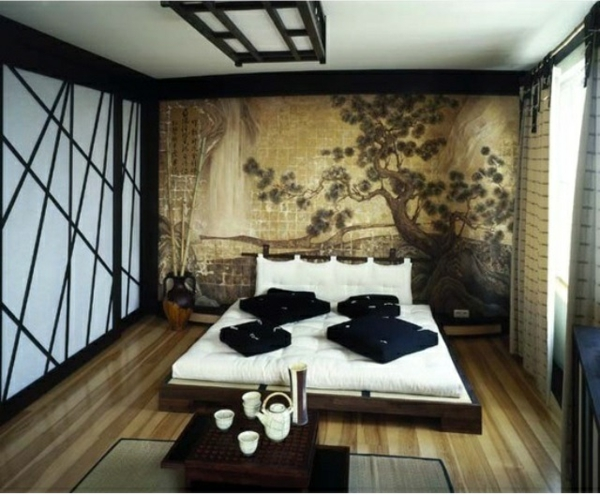 Japanische Schlafzimmer orientalisches schlafzimmer gestalten wie im märchen wohnen