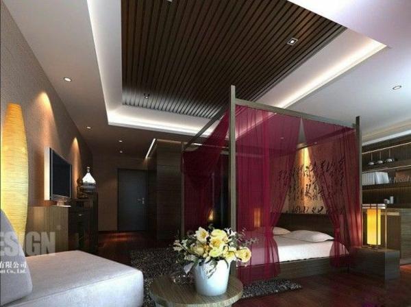 Luxus schlafzimmer mit himmelbett  Orientalisches Schlafzimmer gestalten - wie im Märchen wohnen
