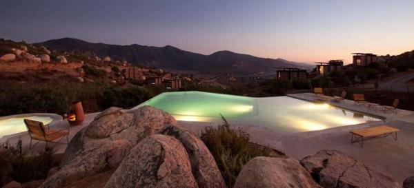 außenbereich pool Endemico Resguardo Silvestre außergewöhnliche hotels