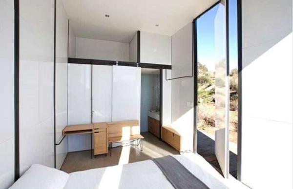 ausgefallene hotels Endemico Resguardo Silvestre mini bungalow bett holzmöbel