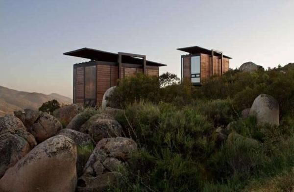 ausgefallene hotels Endemico Resguardo Silvestre mini bungalow holz
