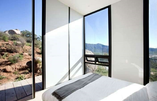 ausgefallene hotels Endemico Resguardo Silvestre mini bungalow schlafzimmer ideen