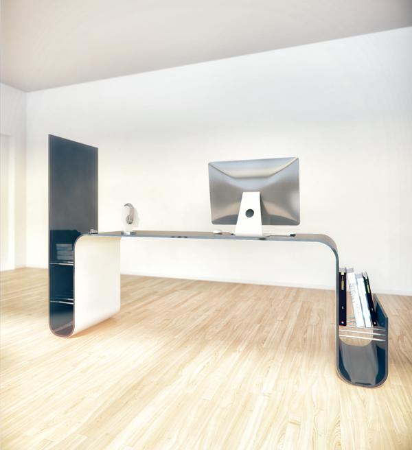 designer möbel tisch staufläche