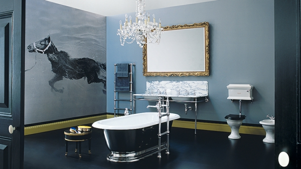 badmöbel freistehende badewannen dekoideen