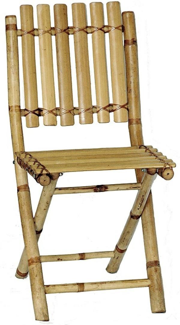 bambus möbel bambusholz klappstuhl