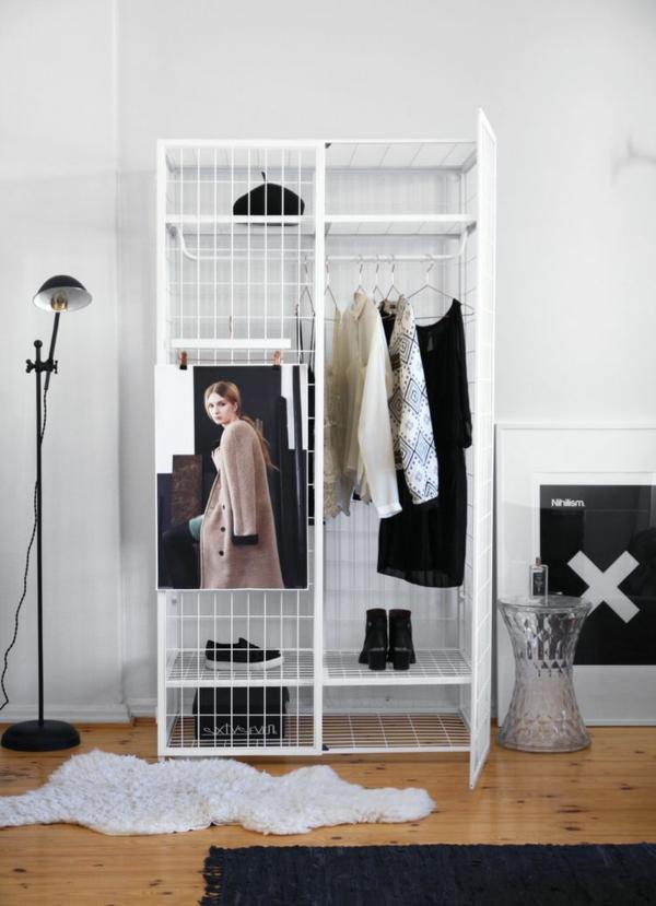 Ikea Fyndig Eckunterschrank ~   kleiderschrank selber bauen kleiderschrank standleuchte ankleidezimmer