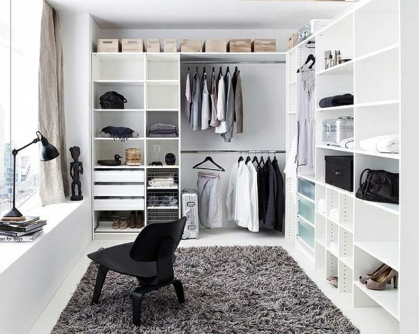 Ikea Fyndig Eckunterschrank ~ Einen begehbaren Kleiderschrank selber bauen – wir helfen Ihnen