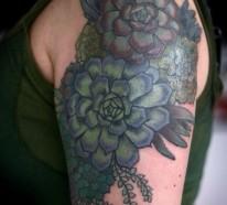 110 Oberarm Tattoo Designs – Beispiele für einen neuen Look