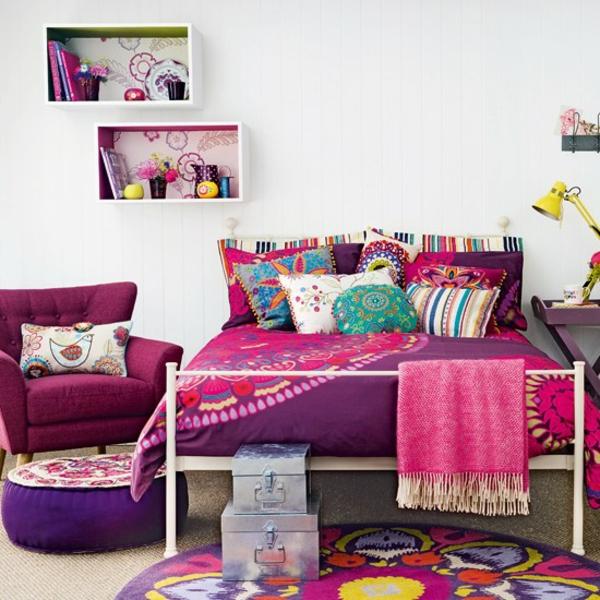 schlafzimmer gestalten - 144 schlafzimmer ideen mit stil - Wohnzimmer Ideen Bunt