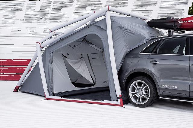 camping zelt für suv audi Q3 quattro