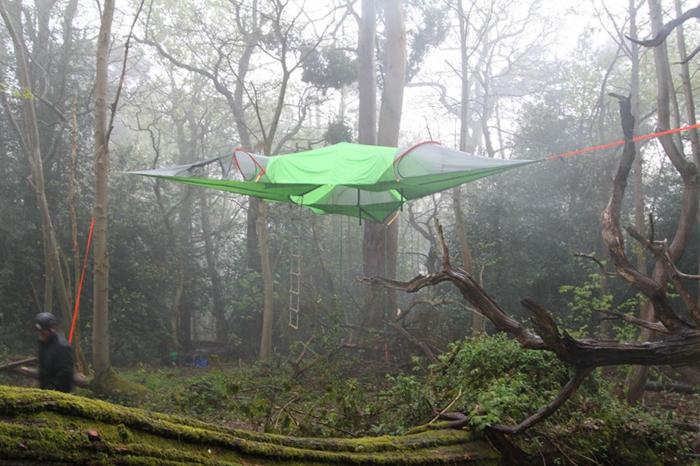 camping zelte hängende zelte tentsile alex shirley smith