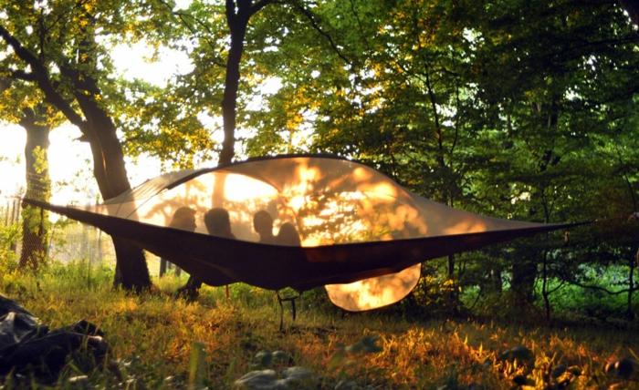 camping zelte hängende zelte tentsile zelte in der luft