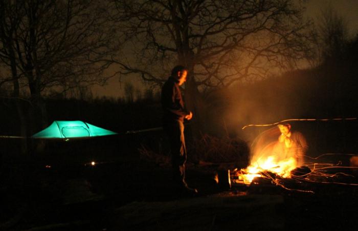 zelte hängende zelte tentsile zelten campen gehen