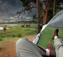 Hängende Camping Zelte – zelten wie nie zuvor