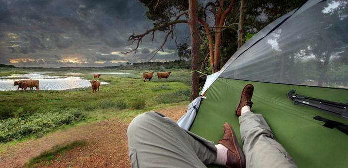 camping zelte hängende zelte tentsile zelten hängematte baumhaus