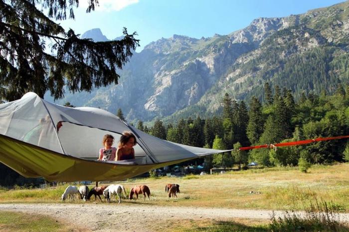camping zelte hängende zelte tentsile zelten nah zur natur