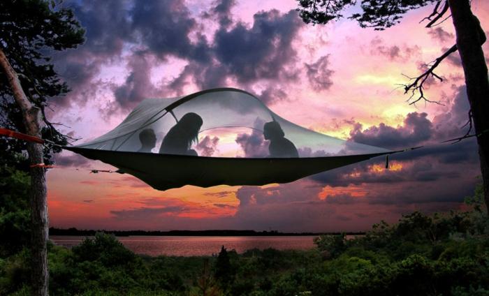 camping zelte hängende zelte tentsile