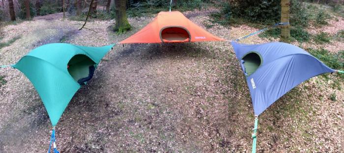 camping zelte tentsile hängende zelte von alex shirley smith