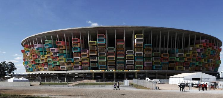 casa futebol moderne architektur fußballstadion architektenwerk weltmeisterschaft 2014 brasilien