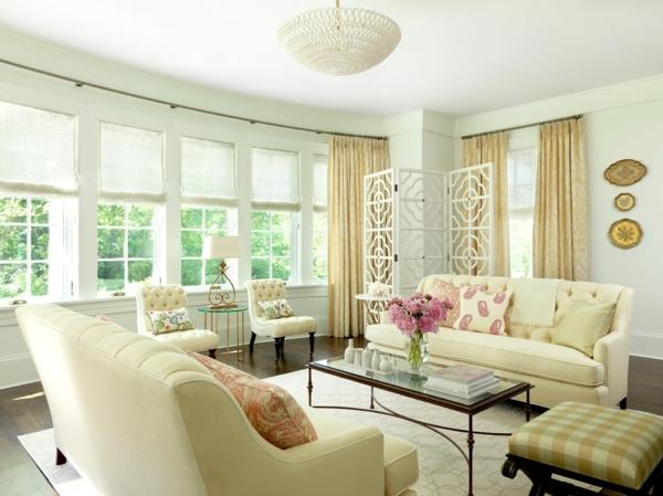 ... coole einrichtungsideen wohnzimmer paravent spanische wand deko ideen