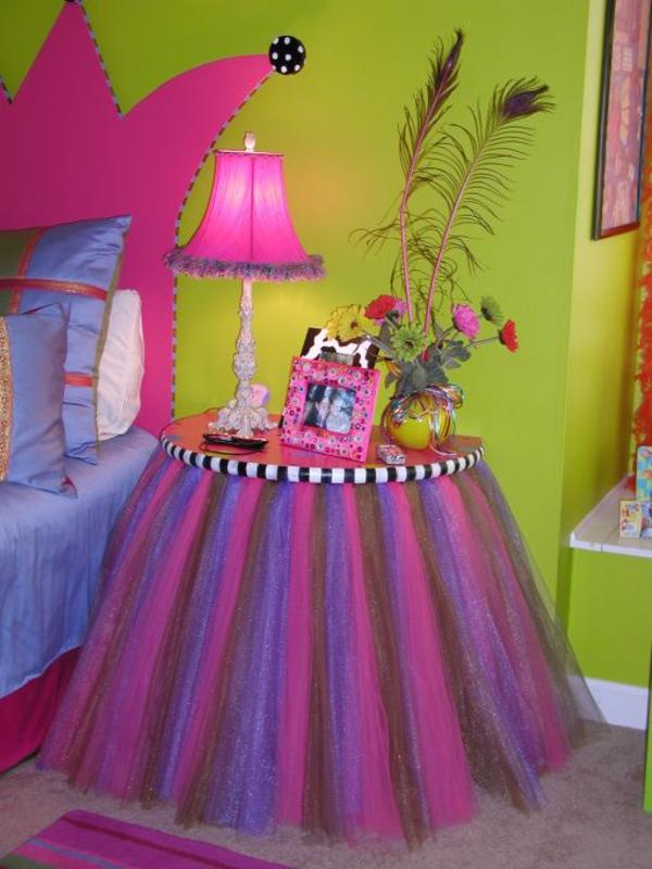 Jugendzimmer m dchen einrichtungsideen f r wachsende m dels - Zweifarbige wandgestaltung ...