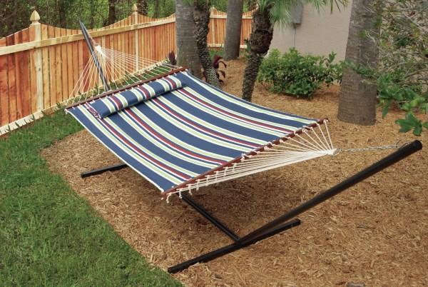 dekoideen outdoor möbel hängematte
