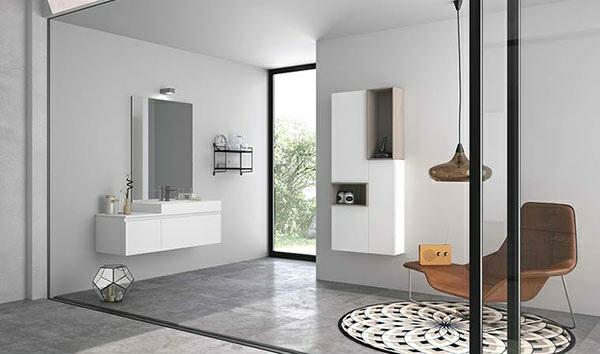 designer badmöbel set altamarea badezimmer gestalten beton bodenbelag