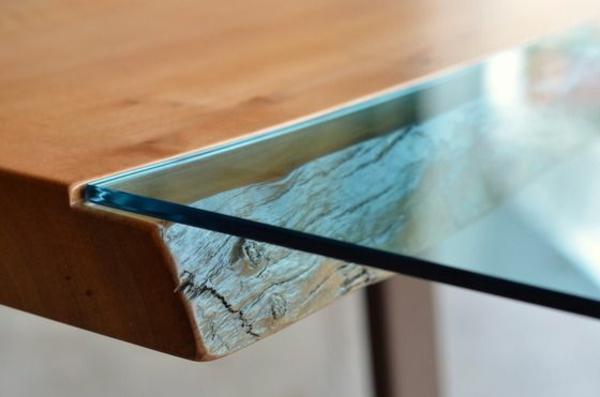 Designer Esstisch Holz : esstische glas türkis holz elegant schön designer