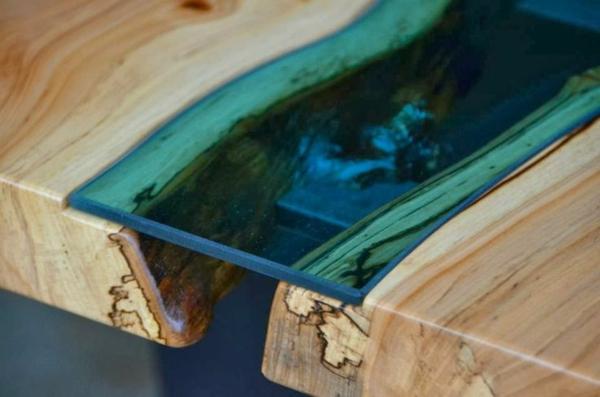 Esstisch Railway Wood ~ Designer Esstische von Greg Klassen entworfen