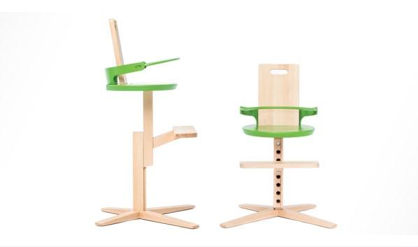 Designer kinderm bel hochstuhl f r babys und kleinkinder for Designer holzstuhl