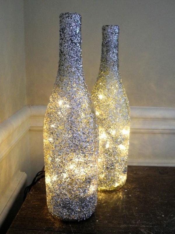 Diy Lampe Aus Weinflaschen - Kreative Dekoideen Deko Ideen Schlafzimmer Diy