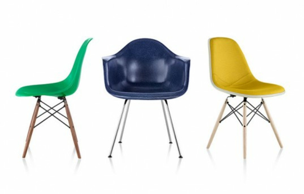 designer möbel designstühle eames shellchairs