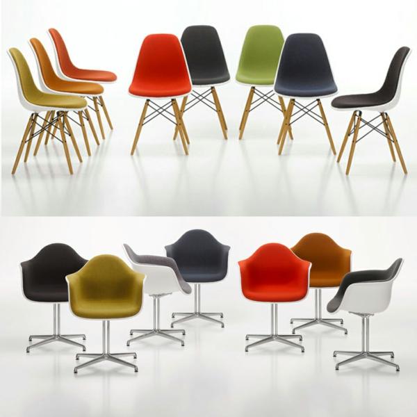 designer möbel designstühle eames shell stühle aus fiberglas