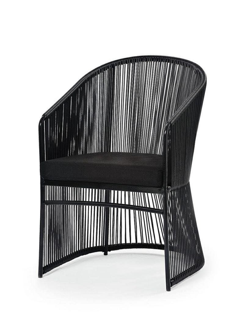 Loungemöbel outdoor schwarz  Outdoor Lounge Möbel mit italienischem Design