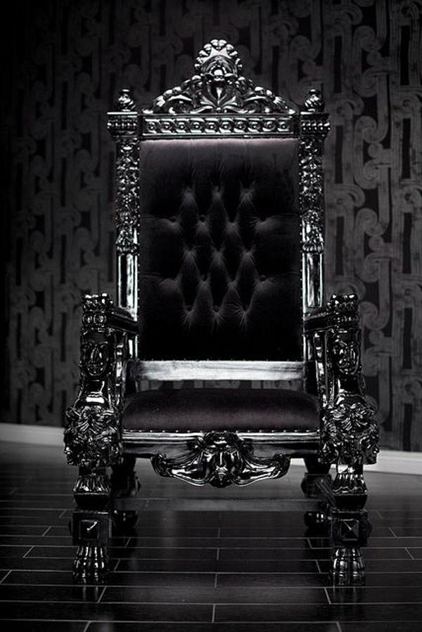 designer stühle thronstühle barock stil