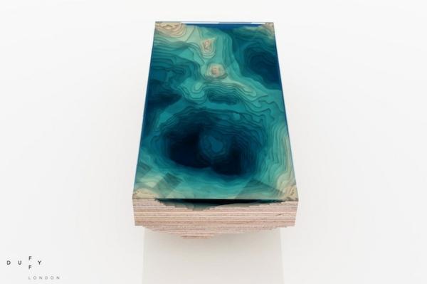 designer tisch holz glas design