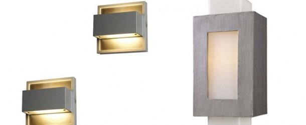 designer wandleuchten aussen gartenbeleuchtung ideen