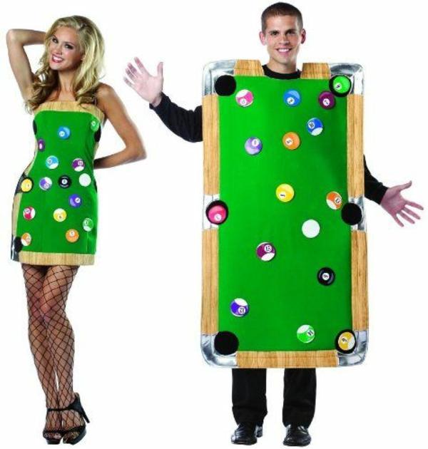 diy kleidung karnevalskostüme billardtisch und kleid cool