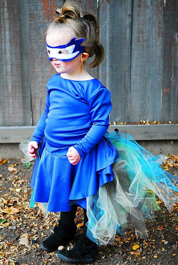 diy kleidung karnevalskostüme blauer pfau
