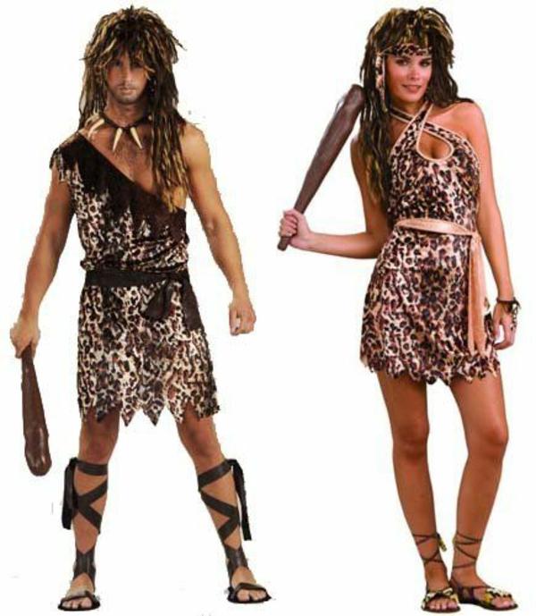 diy kleidung karnevalskostüme höhlenmenschen cool