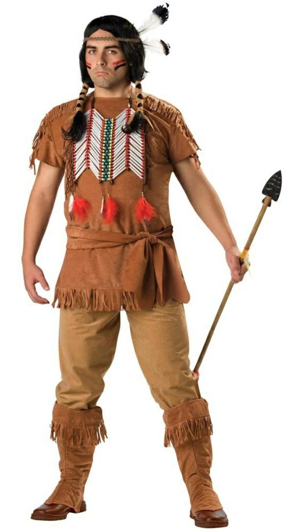 diy kleidung karnevalskostüme indianer
