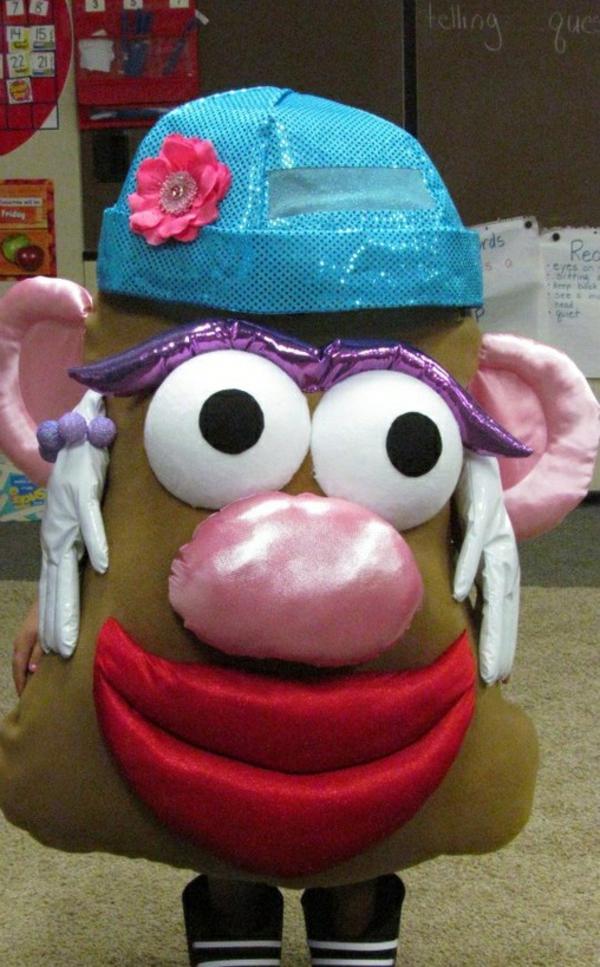 diy kleidung karnevalskostüme kartoffel kopf