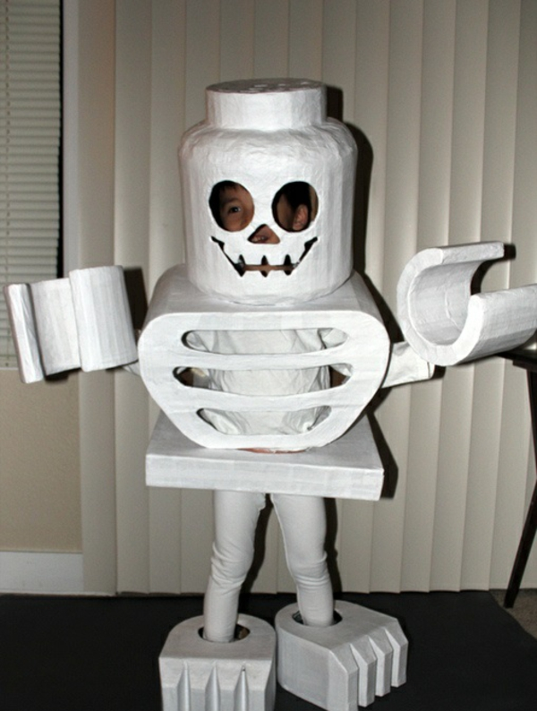 diy kleidung karnevalskostüme lego skelett cool