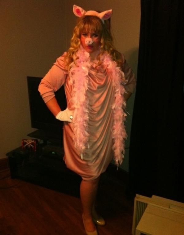 diy kleidung karnevalskostüme miss piggy