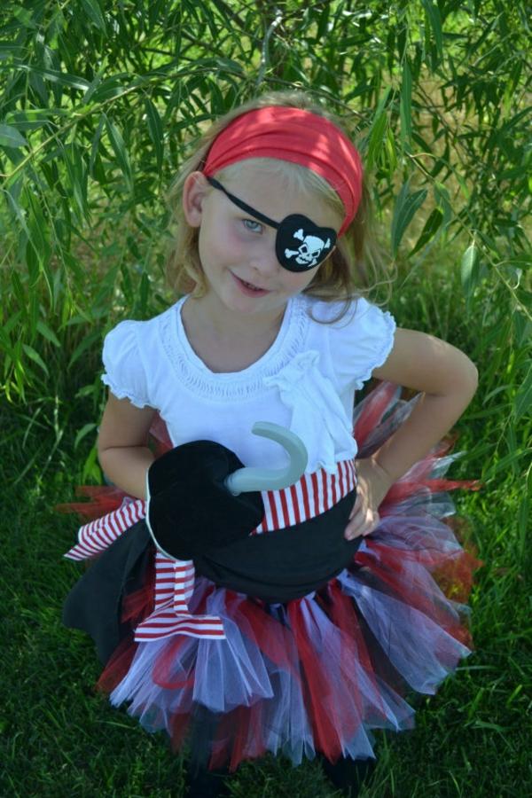 diy kleidung karnevalskostüme süße piratin