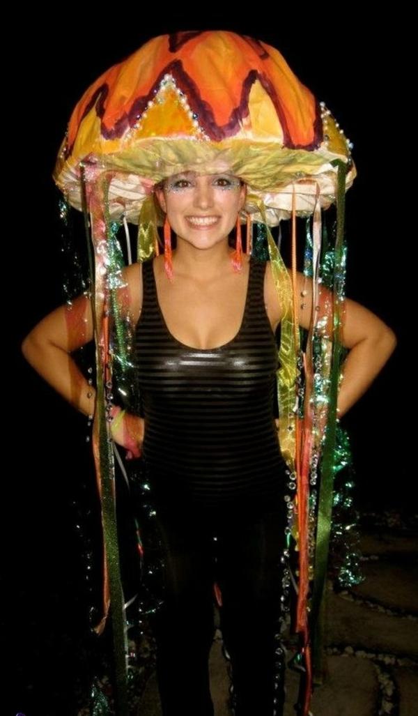 diy kleidung karnevalskostüme qualle