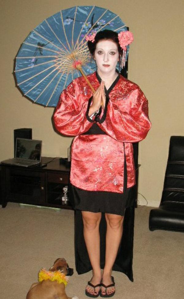 diy karnevalskostüme selbstgemachte kostüme geisha
